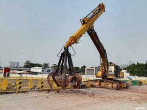 吉林挖机伸缩臂、20吨挖掘机伸缩臂改装、粤西厂家