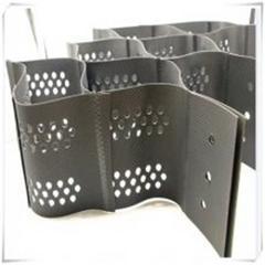 蜂巢焊接土工格室 护坡土工格室 防水加固 泰安厂家 欢迎来电