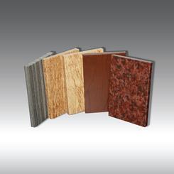 氟碳预辊涂仿木纹铝蜂窝板