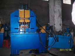 大型液压闪光对焊机 500平方钢圈液压闪光对焊机