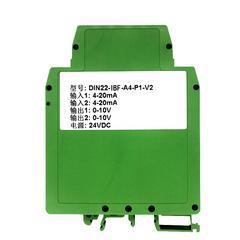 二�M二出4-20MA隔�x信��D�Q器
