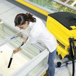 超市生鲜区潮湿地面BD45/40Ep洗地吸干机