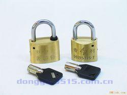 利德牌电力铜锁