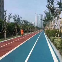 市政园林景观路面,上海誉臻彩色透水地坪材料施工