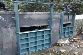 钢制闸门机闸一体