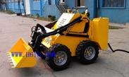 小型电动矿用滑移机器人