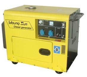 5KW小型风冷静音柴油发电机组