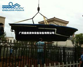 7天建造恩德莱斯ENDLESS POOLS私人泳池  玻璃纤维游泳池
