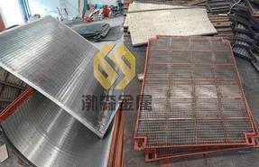 不锈钢焊接式矿筛网筛板