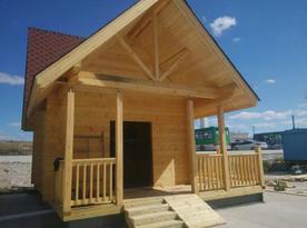德州防腐木木屋