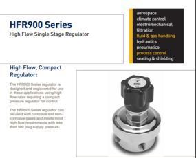 parker veriflo调节器派克HFR900系列调节器