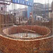 绥化烟囱建筑公司|海伦市烟囱建筑公司【新砌锅炉房烟筒-砖烟囱新建】