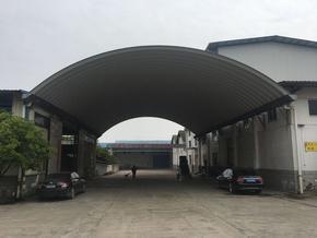 潍坊拱形屋顶现场制作安装
