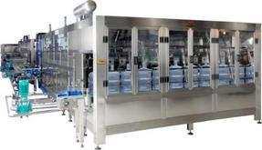 每小时600桶中型全自动桶装纯净水生产灌装设备