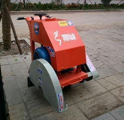 山西晋中电动马路切割机 手推式混凝土沥青路面切割机 500型马路切缝机