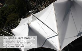 金坛公园膜结构遮阳棚