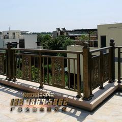 别墅围栏庭院围墙护栏铝合金栏杆严丝合缝