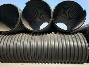 钢带增强聚乙烯螺旋波纹管厂家