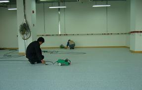 PVC防静电地板图片