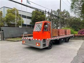 15噸電動平板搬運車,單人駕駛電動平板貨車