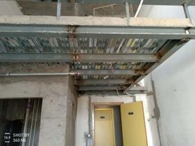 太原专注钢结构隔层的施工技术消防钢楼梯的焊接安装
