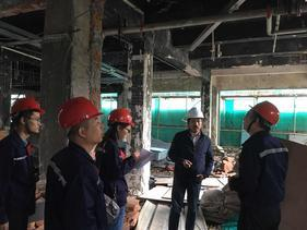 安徽省合肥市厂房检测地坪下沉及墙体开裂