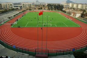 天津环保无毒橡胶跑道施工 铺设