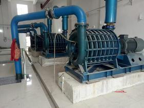 污水处理曝气多级离心风机D100-81-68.6  C100-1.7