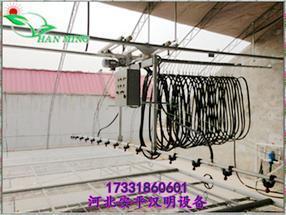 重庆温室大棚自动灌溉系统_经济型喷灌机_河北安平汉明设备厂