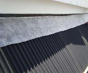 波形沥青防水板施工