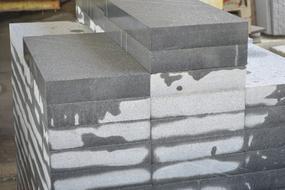 深圳工地工程板材料dfsg深圳麻石深圳芝麻黑G654树池石花岗岩工地