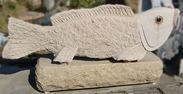 园林石鱼石雕GAB530