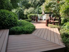 西安塑木地板,西安木塑栈道,陕西绿可木厂家