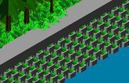 自锁式植生型挡土墙