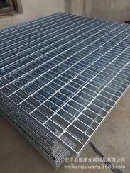 电厂平台钢格栅板 热镀锌钢格板 沟盖板