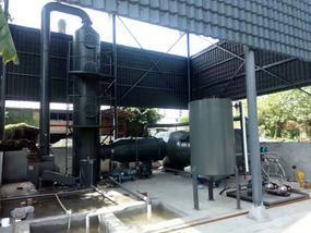 真空泵有机废气焚烧炉