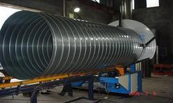 中央集尘导管成型机