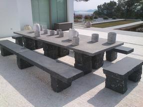 园林石桌椅套装GCF499