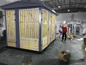 厂家供应箱变 复合板ABB贴木条箱式变电站 1000KVA箱变 箱式变电所