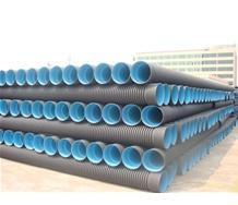 内蒙古赤峰塑料排水聚乙烯(PE)双壁波纹管