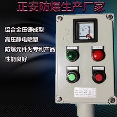 防爆操作柱远程控制非标定制挂式/立式防爆防腐仪表箱按钮操作柱