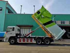 30吨移动压缩垃圾站特点