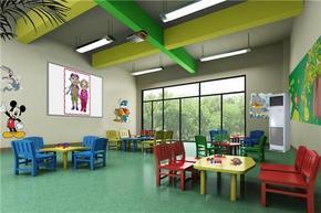 重庆渝北区幼儿园装修设计、推荐爱港装饰