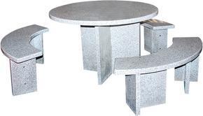 名称:花岗岩桌椅套装GCF454