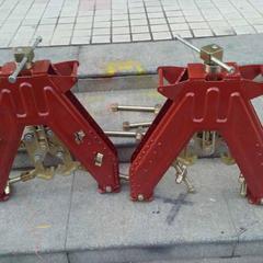 人字形钢轨对齐架 铁路钢轨对正器 轨道调整工具