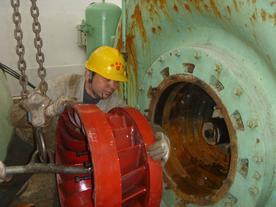 水轮机 水轮机转轮 水轮机改造