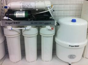 最新款净水器安吉尔壁挂式反渗透净水机J1207-ROB8A