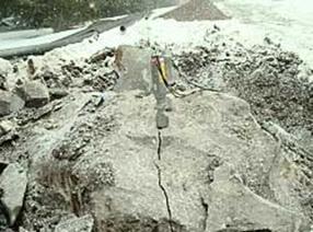施工队好帮手岩石分裂机