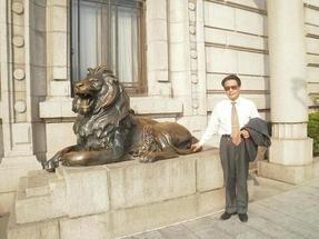 石狮子,石雕献钱狮