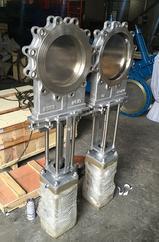 Z643H剪切型气动刀型闸阀